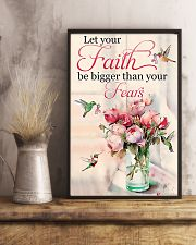 Let Your Faith Be Bigger Than Your Fears 11x17 Poster lifestyle-poster-3