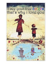 Autism I see your true colors 250 Piece Puzzle (vertical) front