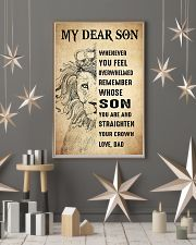 Family My Dear Son - Dad 11x17 Poster lifestyle-holiday-poster-1