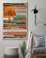 Family To My Daughter  Tree 11x17 Poster lifestyle-poster-1