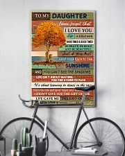Family To My Daughter  Tree 11x17 Poster lifestyle-poster-7
