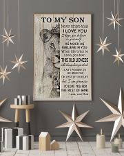 Family To My Son Lion 11x17 Poster lifestyle-holiday-poster-1