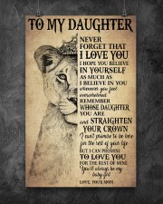 Family To My Daughter Love Mom 11x17 Poster aos-poster-portrait-11x17-lifestyle-12