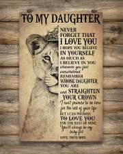 Family To My Daughter Love Mom 11x17 Poster aos-poster-portrait-11x17-lifestyle-14