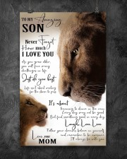 Family To My Amazing Son 11x17 Poster aos-poster-portrait-11x17-lifestyle-12