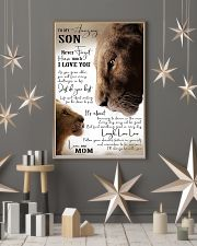 Family To My Amazing Son 11x17 Poster lifestyle-holiday-poster-1