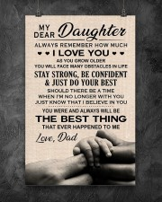 Family My Dear Daughter - Dad 11x17 Poster aos-poster-portrait-11x17-lifestyle-12