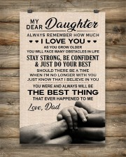 Family My Dear Daughter - Dad 11x17 Poster aos-poster-portrait-11x17-lifestyle-14