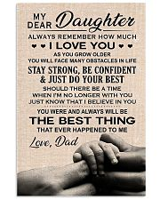 Family My Dear Daughter - Dad 11x17 Poster front