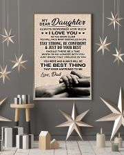 Family My Dear Daughter - Dad 11x17 Poster lifestyle-holiday-poster-1