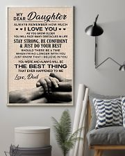 Family My Dear Daughter - Dad 11x17 Poster lifestyle-poster-1