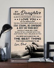 Family My Dear Daughter - Dad 11x17 Poster lifestyle-poster-2