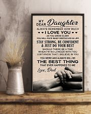 Family My Dear Daughter - Dad 11x17 Poster lifestyle-poster-3