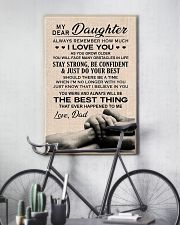 Family My Dear Daughter - Dad 11x17 Poster lifestyle-poster-7