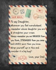 Mail To My Daughter - Dad 11x17 Poster aos-poster-portrait-11x17-lifestyle-12