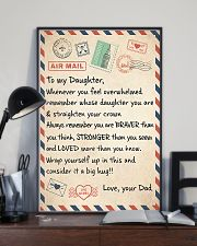Mail To My Daughter - Dad 11x17 Poster lifestyle-poster-2