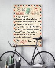 Mail To My Daughter - Dad 11x17 Poster lifestyle-poster-7