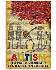 Autism It's A Different Ability 11x17 Poster front