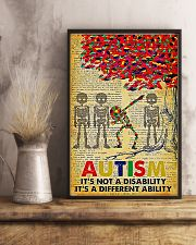 Autism It's A Different Ability 11x17 Poster lifestyle-poster-3