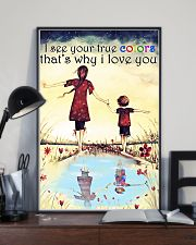Autism I see your true colors 11x17 Poster lifestyle-poster-2