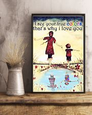 Autism I see your true colors 11x17 Poster lifestyle-poster-3