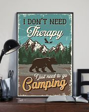 I Don't Need Therapy I Just Need To Go Camping 11x17 Poster lifestyle-poster-2