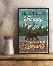 I Don't Need Therapy I Just Need To Go Camping 11x17 Poster lifestyle-poster-3