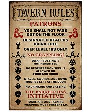 DND Tavern Rules 11x17 Poster front