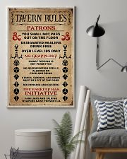 DND Tavern Rules 11x17 Poster lifestyle-poster-1