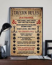DND Tavern Rules 11x17 Poster lifestyle-poster-2
