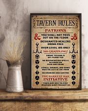 DND Tavern Rules 11x17 Poster lifestyle-poster-3
