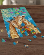 Autism Stand Tall And Be Proud You Are Amazing 250 Piece Puzzle (vertical) aos-jigsaw-puzzle-250-pieces-vertical-lifestyle-front-21