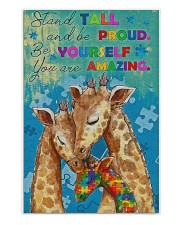 Autism Stand Tall And Be Proud You Are Amazing 250 Piece Puzzle (vertical) front