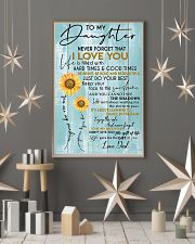 To My Daughter Never Forget Dad 11x17 Poster lifestyle-holiday-poster-1