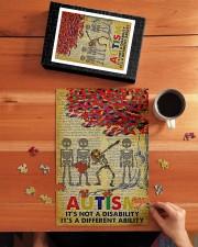 Autism It's A Different Ability 250 Piece Puzzle (vertical) aos-jigsaw-puzzle-250-pieces-vertical-lifestyle-front-04