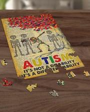 Autism It's A Different Ability 250 Piece Puzzle (vertical) aos-jigsaw-puzzle-250-pieces-vertical-lifestyle-front-21
