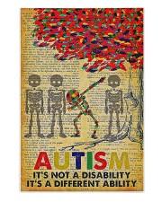 Autism It's A Different Ability 250 Piece Puzzle (vertical) front