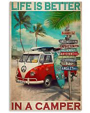 Camping Life Is Better 11x17 Poster front