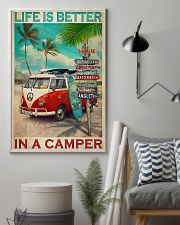 Camping Life Is Better 11x17 Poster lifestyle-poster-1
