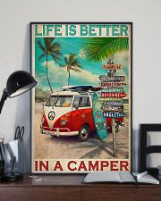 Camping Life Is Better 11x17 Poster lifestyle-poster-2