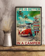 Camping Life Is Better 11x17 Poster lifestyle-poster-3