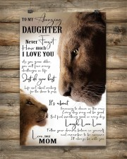 Family To My Amazing Daughter 11x17 Poster aos-poster-portrait-11x17-lifestyle-14