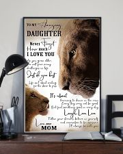 Family To My Amazing Daughter 11x17 Poster lifestyle-poster-2