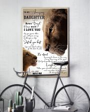 Family To My Amazing Daughter 11x17 Poster lifestyle-poster-7