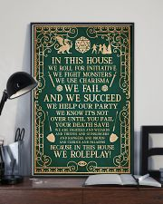 DND In This House 11x17 Poster lifestyle-poster-2