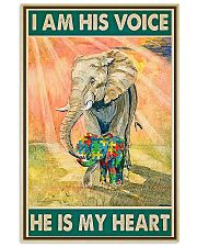 Autism He Is My Heart 11x17 Poster front