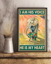 Autism He Is My Heart 11x17 Poster lifestyle-poster-3
