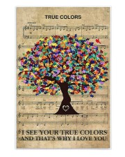 Autism I see your true colors and I love you 250 Piece Puzzle (vertical) front