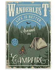 Camping Around The Camfire 11x17 Poster front