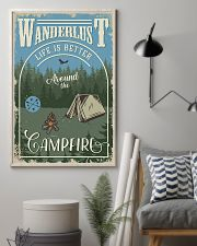 Camping Around The Camfire 11x17 Poster lifestyle-poster-1